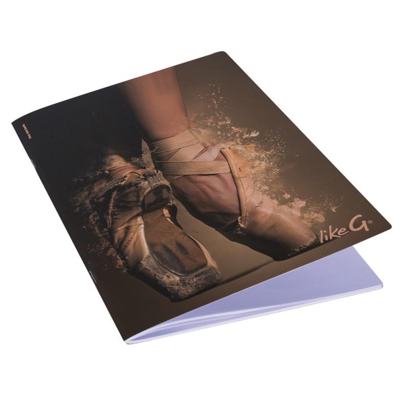Quaderno A4 righe Danza LikeG.