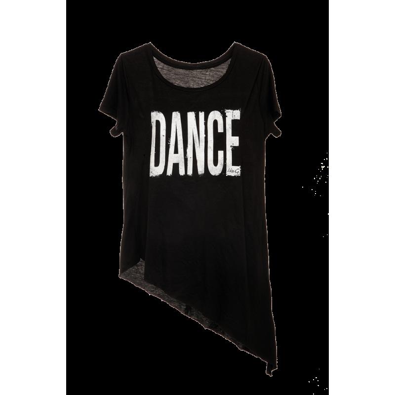 T-Shirt Asimmetrica DANCE...
